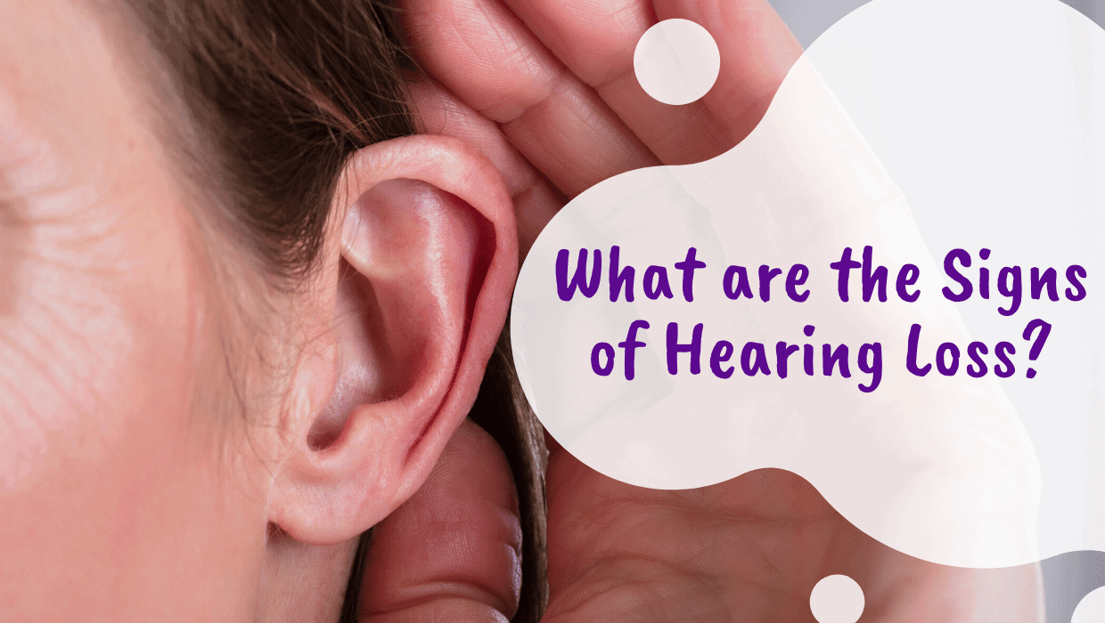 Signs of Hearing Loss Graphic