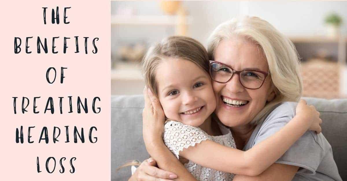 Grandma and Granddaughter Hug